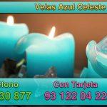 Significado de la vela azul celeste