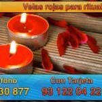 Velas rojas y su utilidad en rituales