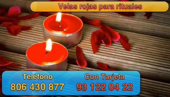 velas rojas y rituales