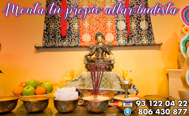 Monta tu propio altar budista