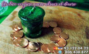 Efectivo conjuro para atraer el dinero